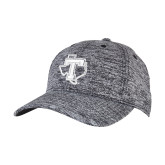 PosiCharge Black/White Electric Heather Snapback Hat-Primary