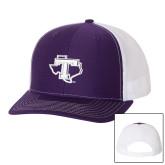 Richardson Purple/White Trucker Hat-Primary
