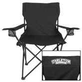Deluxe Black Captains Chair-Tarleton Texas