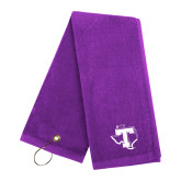 Purple Golf Towel-Primary