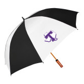 62 Inch Black/White Vented Umbrella-Primary