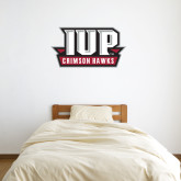 1.5 ft x 3 ft Fan WallSkinz-IUP Hawks Banner