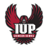 Medium Decal-IUP Hawk Wings, 8 inches tall