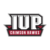 Medium Decal-IUP Hawks Banner, 8 inches wide