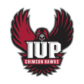 Small Decal-IUP Hawk Wings, 6 inches tall