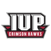 Extra Large Decal-IUP Hawks Banner, 18 inches wide