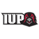 Extra Large Decal-IUP Hawk Head, 18 inches wide