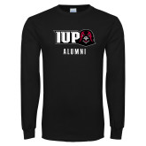 Black Long Sleeve T Shirt-Alumni