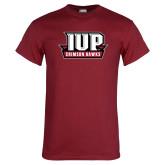 Cardinal T Shirt-IUP Hawks Banner