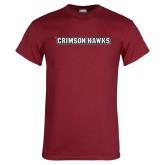 Cardinal T Shirt-Crimson Hawks