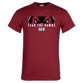 Cardinal T Shirt-Fear The Hawks