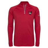 Under Armour Cardinal Tech 1/4 Zip Performance Shirt-IUP Hawk Wings