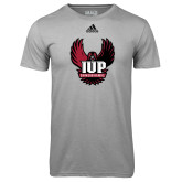 Adidas Climalite Sport Grey Ultimate Performance Tee-IUP Hawk Wings