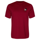 Performance Cardinal Tee-IUP Hawk Wings