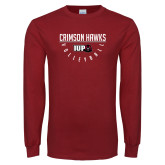 Cardinal Long Sleeve T Shirt-Volleyball Bar