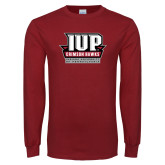 Cardinal Long Sleeve T Shirt-IUP of Penn