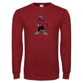 Cardinal Long Sleeve T Shirt-Youth Mark