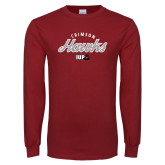 Cardinal Long Sleeve T Shirt-Script