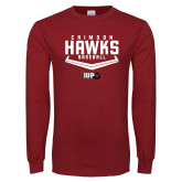 Cardinal Long Sleeve T Shirt-Baseball Plate