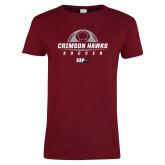 Ladies Cardinal T Shirt-Sport 5