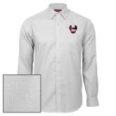 Red House White Diamond Dobby Long Sleeve Shirt-IUP Hawk Wings