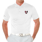 Callaway Opti Vent White Polo-IUP Hawk Wings