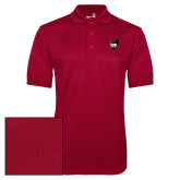 Cardinal Dry Mesh Polo-IUP Hawk Wings