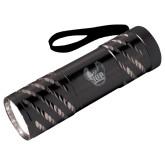 Astro Black Flashlight-IUP Hawk Wings Engraved