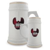 Full Color Decorative Ceramic Mug 22oz-IUP Hawk Wings