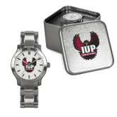 Mens Stainless Steel Fashion Watch-IUP Hawk Wings