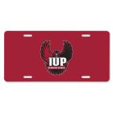 License Plate-IUP Hawk Wings