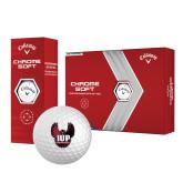 Callaway Chrome Soft Golf Balls 12/pkg-IUP Hawk Wings