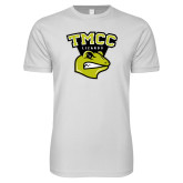 Next Level SoftStyle White T Shirt-TMCC Athletics