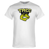 White T Shirt-TMCC Athletics