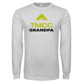 White Long Sleeve T Shirt-Grandpa