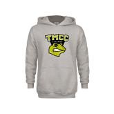 Youth Grey Fleece Hood-TMCC Athletics