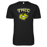 Next Level SoftStyle Black T Shirt-TMCC Athletics