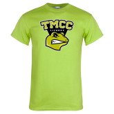Lime Green T Shirt-TMCC Athletics