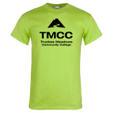 Lime Green T Shirt-TMCC Stacked with Name