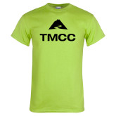 Lime Green T Shirt-TMCC Stacked