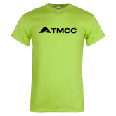 Lime Green T Shirt-TMCC Horizontal