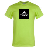 Lime Green T Shirt-TMCC Block