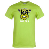 Lime Green T Shirt-Lizards Soccer