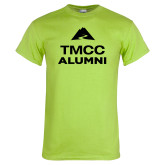 Lime Green T Shirt-Alumni