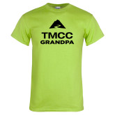 Lime Green T Shirt-Grandpa