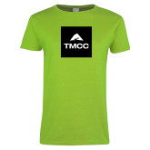 Ladies Lime Green T Shirt-TMCC Block