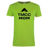 Ladies Lime Green T Shirt-Mom