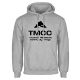 Grey Fleece Hoodie-TMCC Stacked with Name