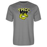 Performance Grey Concrete Tee-TMCC Athletics