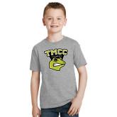 Youth Grey T Shirt-TMCC Athletics
